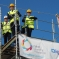 Chris Skidmore MP attending the topping out ceremony of the £3m Digitech school
